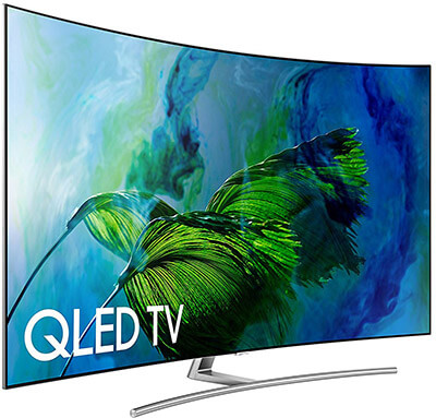 Samsung QN65Q8C 4K Ultra HD Smart QLED TV, 65-Inch