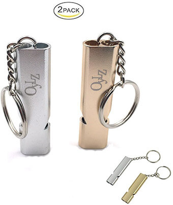 OYLZ Double-tubes Survival Whistle