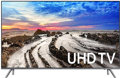 Samsung Electronics UN55MU8000 4K Ultra HD Smart LED TV, 55-Inch -2017