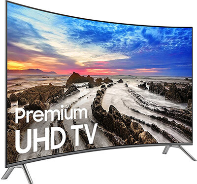 Samsung UN65MU8500 Curved 4K Ultra HD Smart 65-Inch, 2019