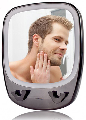 CarBoss Fog-less Shower Mirror