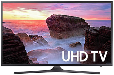 Samsung Electronics UN40MU6300 4K UHD Smart LED TV, 40-Inch, 2019