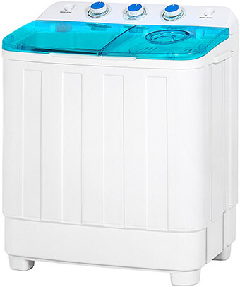 Best Choice Products # Compact Mini-Twin Tub Portable Compact Washing Machine