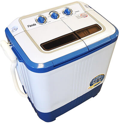 Panda Compact Portable Washing Machine, with spin dryer