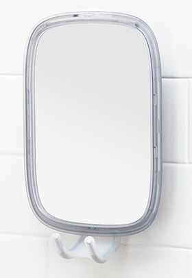 OXO Good Grips Fogless mirror, Stronghold Suction Fogless Mirror