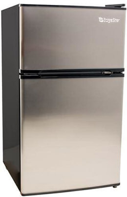 EdgeStar Compact Fridge/Freezer, 3.1 Cu. Ft