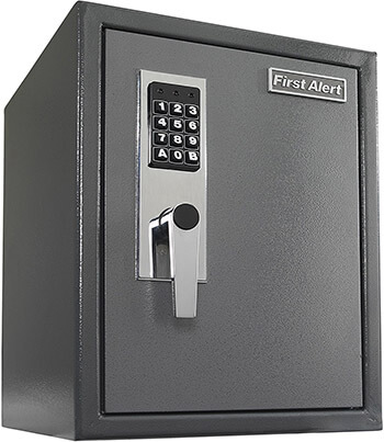 First Alert 2077DF 1.2 Cu.Ft Anti-Theft Safe with Digital Lock