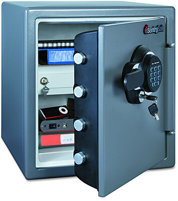 SentrySafe SFW123GDC Extra Large Digital Electronic Fire-Safe