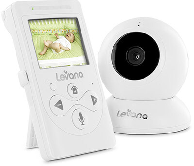Levana 32000 Lila 2.4-In Digital Video Baby Monitor