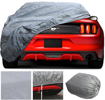 OxGord Custom Fit Car Cover for Select Ford Mustang