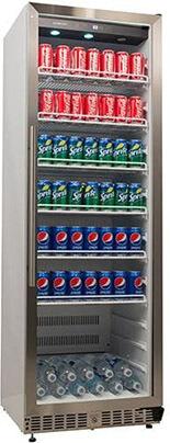 EdgeStar VBR640 Built-In Commercial Beverage Merchandiser