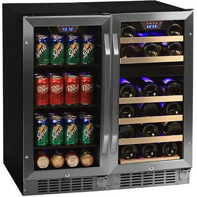 "Edgestar CWBV8026 30"" Wide Wine & Beverage Center"