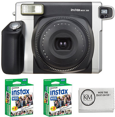 Fujifilm INSTAX Wide 300 Camera +2 x Instax Wide Film 2 Pack