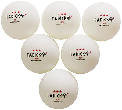TADICK New Material Ping Pong 40+ Poly Premium Table Tennis Ball