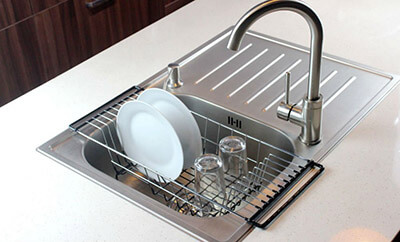 Neat O Over-the-Sink Kitchen Dish Drying Rack