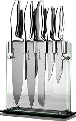 Utopia Kitchen Class Stainless-Steel 12 Knife Set