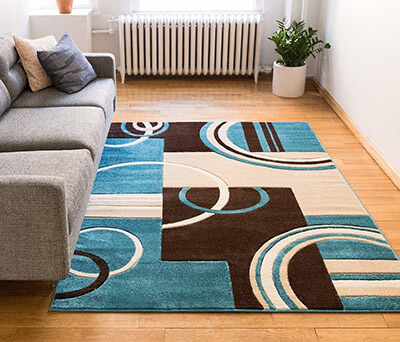 Well Woven Echo Shapes & Circles Modern Geometric Area Rug