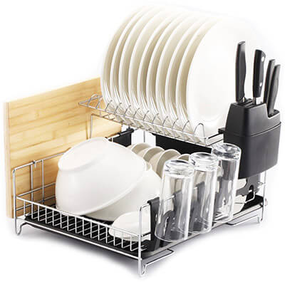 PremiumRacks Fully Customizable Professional Dish Rack
