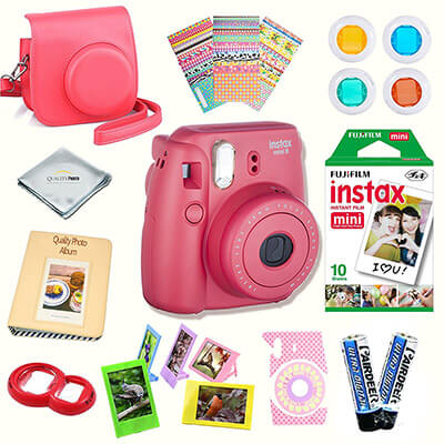 Fujifilm Instax Mini 8 Camera, with Instax mini 8 instant films