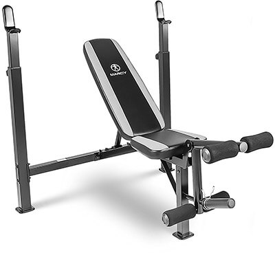 Marcy Fitness Olympic MWB-4491 Multipurpose Weightlifting Workout Bench