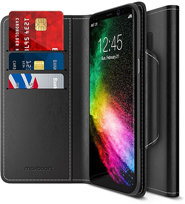 Maxboost S8 Plus Wallet Case