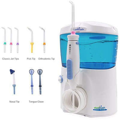 Aiyabrush Dental Oral Irrigator Ultra Pressure Water Flosser