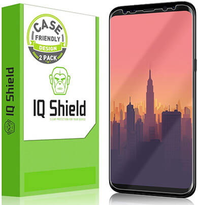 IQShield Galaxy S8 Plus Screen Protector