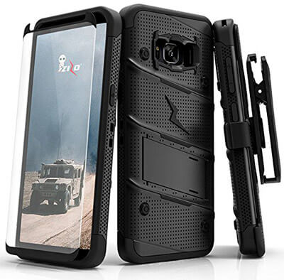 Zizo Bolt Series Case for Samsung Galaxy S8