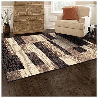 Superior Floor Rug Modern Rockwood Collection