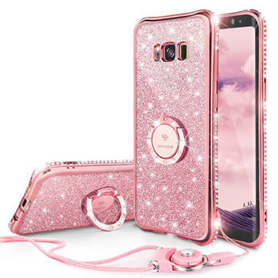 Ocyclone Glitter Galaxy S8 Plus Case