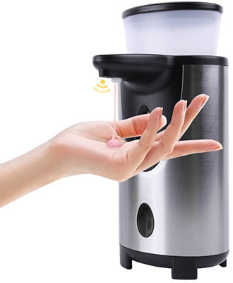 SkyGenius Automatic Touchless Soap Dispenser 300ml Capacity