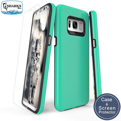 Sharksbox Galaxy S8 Case Commuter Series