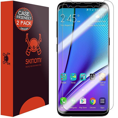 Skinomi 2-Pack S8 Plus Screen Protector