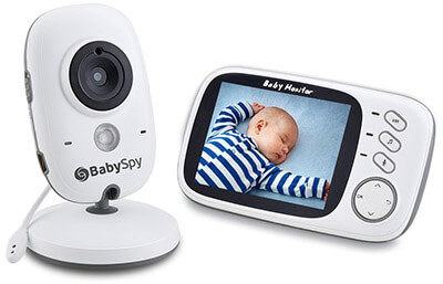 BabySpyVideo Baby Monitor with 3.2 LCD Display & Digital Camera