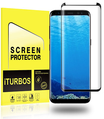 iTurbos 2-Pack Galaxy S8 Screen Protector