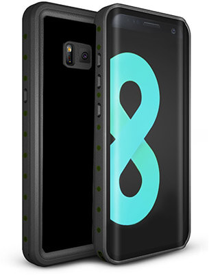 Tronoe Waterproof Galaxy S8 Case