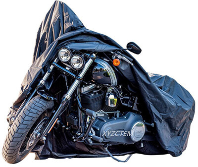 XYZCTEM New Generation XXXL Black Motorcycle Cover