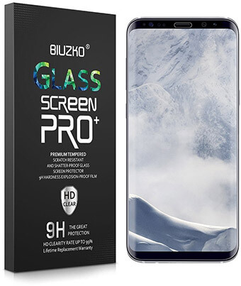 Buizko Galaxy S8 Plus Screen Protector