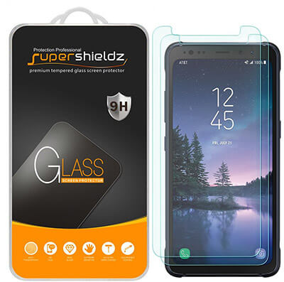Supershieldz 2-Pack Samsung Galaxy S8 Active Screen Protector
