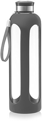 Swig Savvy Glass Water Bottle Break-resistant Borosilicate Glass