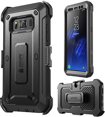 Supcase Unicorn Beetle PRO Series Galaxy S8 Active Case