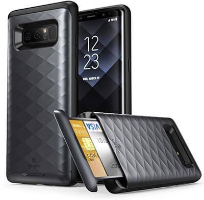 Clayco Black Galaxy Note 8 Case