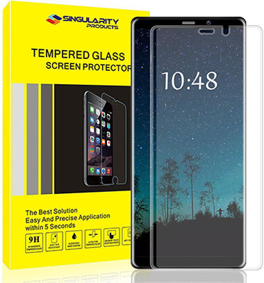Singularity Products Galaxy Note8 Screen Protector Glass