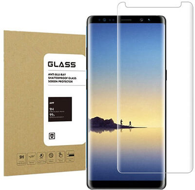 Undada Anti-scratches, 9H Hardness, HD Crystal Clear Galaxy Note8 Tempered Glass Screen Protector