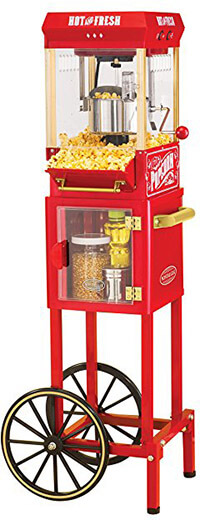 Nostalgia KPM200CART Popcorn Machine