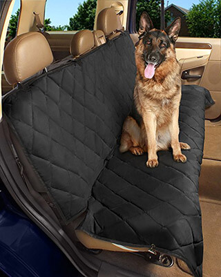 Epica Luxury Deluxe Pet Dog Car Seat Cover, Water Resistant & Machine Washable