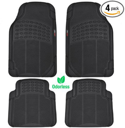 Motor Trend Rubber Car Mats