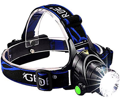 GRDE LED Headlamp
