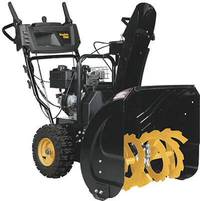 PoulanPRO PR241 208cc, Two-Stage Electric Start, 24-Inch snow Blower