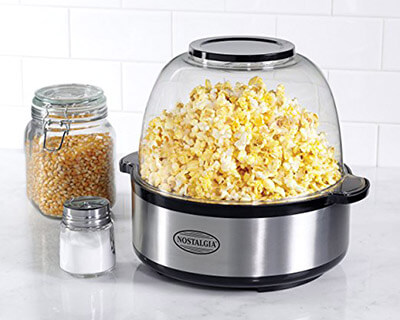 Nostalgia SP660SS Stir-Pop Popcorn Machine